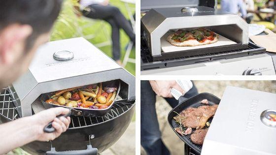 horno de pizza firebox