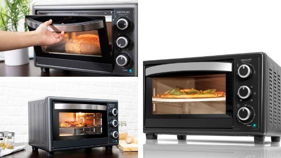 horno cecotec 570 4 pizza