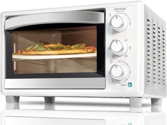 horno de sobremesa cecotec bake&toast 610 4pizza