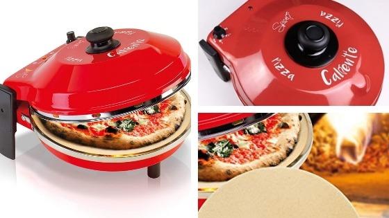 Spice Diavola y Caliente horno de pizza eléctrico