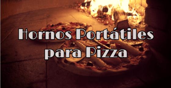 Hornos portátiles y de sobremesa para pizza
