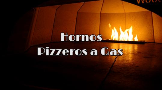 horno pizzero a gas
