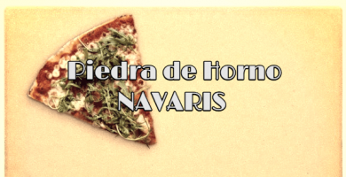 Piedra para horno casera Navaris