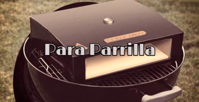 Horno de pizza portatil para barbacoa o parrilla