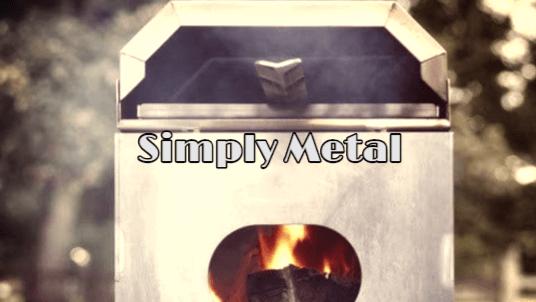 simply metal horno de pizza